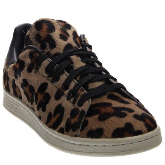 Adidas Leopard Pony Hair Stan Smith